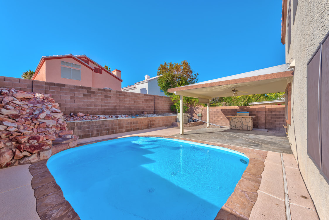 1805 Sierra Valley Way Las Vegas Nv 89128 Just Listed 320 111 Ready To Entertain This One Has It All Backyard Fun With Private Pool Covered Patio